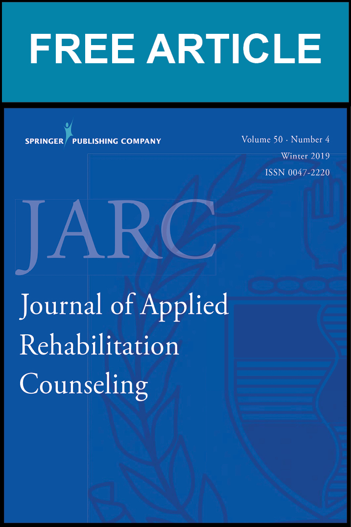 Counseling Crisis in Rehabilitation Services